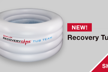 Mueller Recovery Tub Inflatable Ice Tub for Team